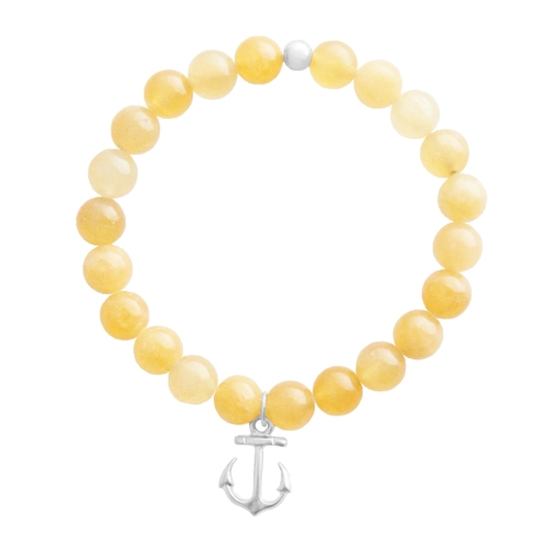 Anchor Bracelet - Nautical Wheeler Jewelry - Silver