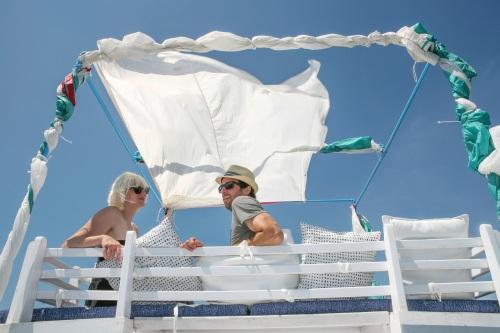 Nautical House Boat Tour