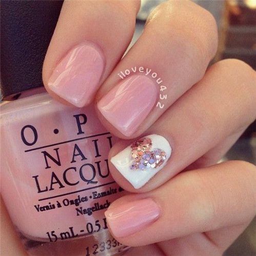 Valentine's Day Nail Art 2017
