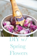 DIY with Spring Flowers