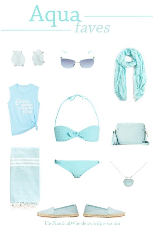 Aqua Outfit Inspiration